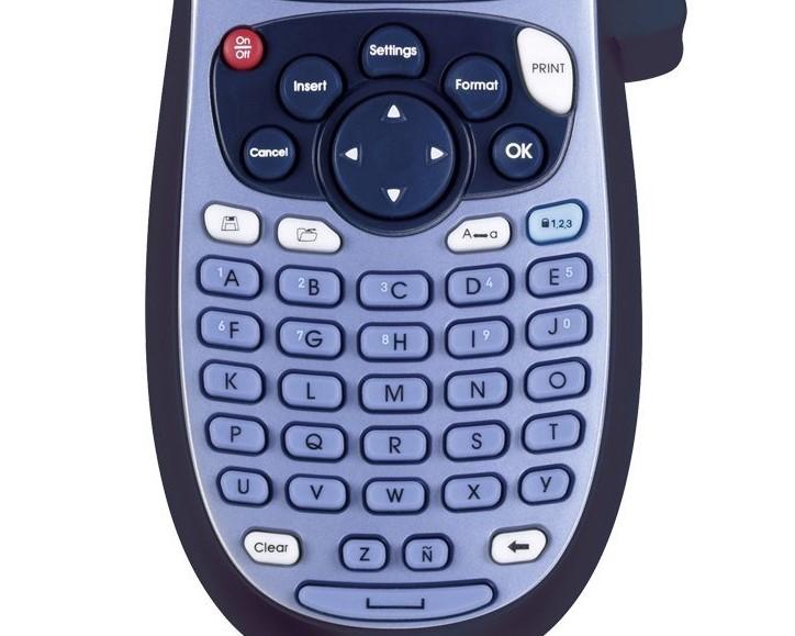 teclado rotuladora dymo letratag